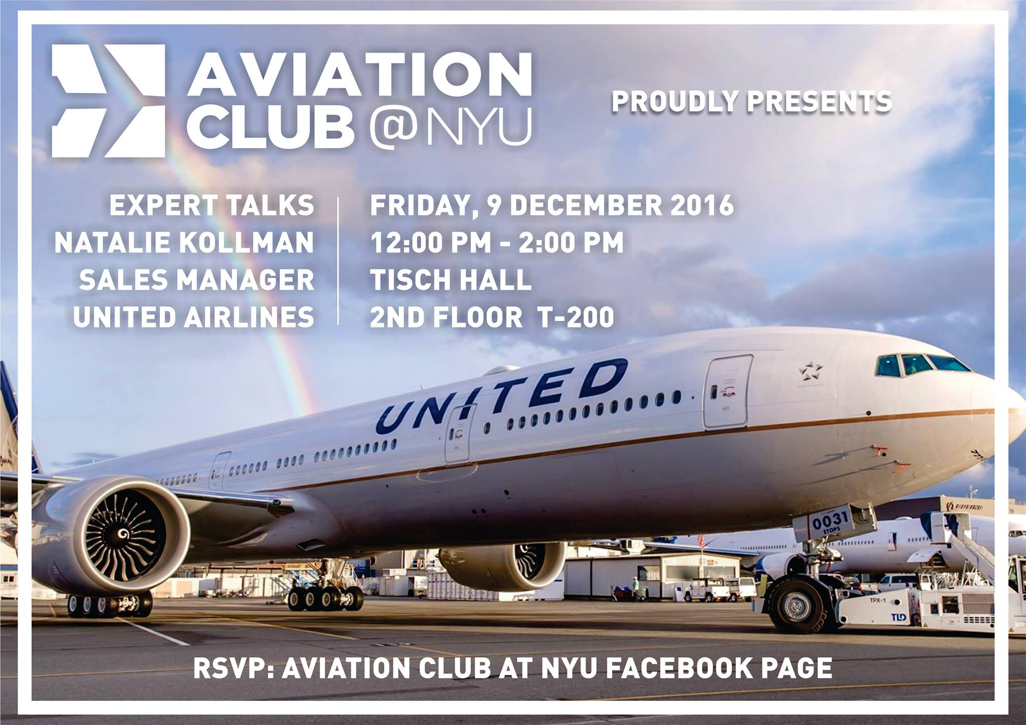 Talk with Natalie Kollman, United Airlines Sales Manager – Aviation